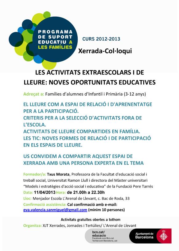 CARTELL-Xerr-Activs-extraesc-2013_04_11-Arenal-de-Llevant
