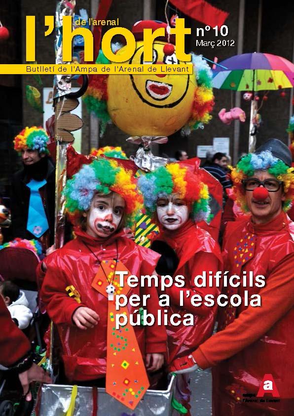 Pàgina 1 Març 2012