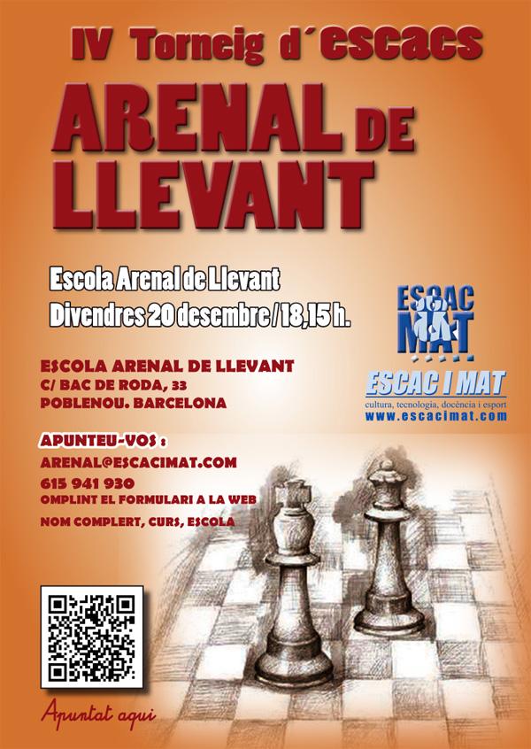 Cartell-IVArenal13-14