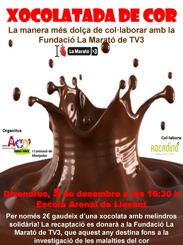 Xocolatada - cartell v2