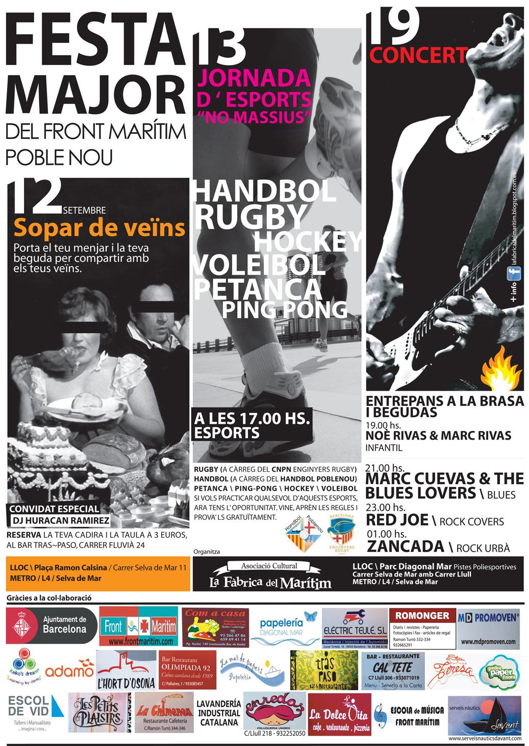 Programa Festa Major 2015
